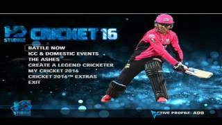 EA Sports Cricket 2016 Official TrailerBest Cricket Game Ever,Dont Miss