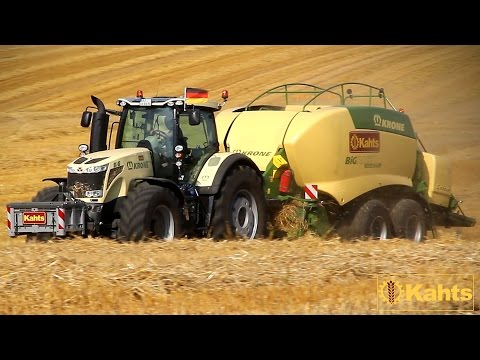 KRONE BIG  Massey Ferguson 8670 mit einer Krone BIG PACK