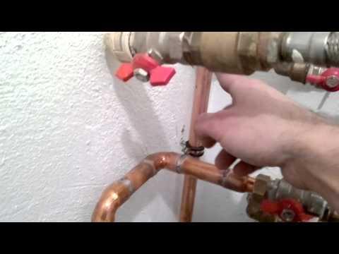 como instalar un filtro para la cal de casa