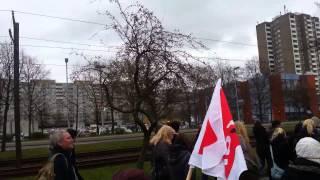 preview picture of video 'ver.di Streik am 19.03.2014 in Laatzen am Leine Center'