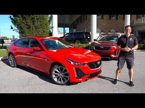 External Review Video VHtogZPTfxs for Cadillac CT5 Sedan