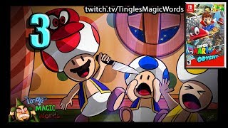 Tingles Plays   Super Mario Odyssey Episode 3