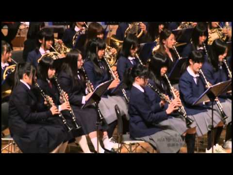 『アルヴァマー序曲』 奈良市立都跡中学校吹奏楽部