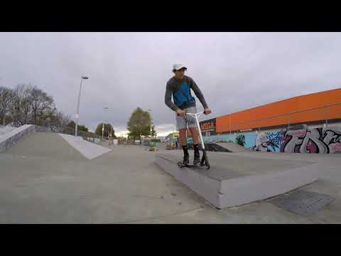 Scooter Tricks @ Ashburton Skatepark