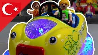Playmobil Türkçe Çapışan Arabalar - lunaparkı - Hauser Ailesi