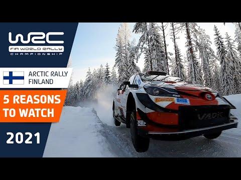 WRC 2021 第2戦のラリーフィンランド ラリー前にみておきたいパワーステージTOP5(動画)