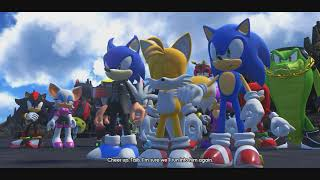 Sonic Forces final boss fight story gameplay Part 13