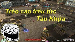 [ Bình Luận CF ] Trèo Lên Nóc Hoàng Lăng Trêu Zombie CFQQ Và Rùa Ngáo