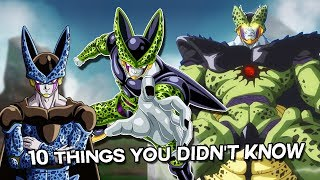 10 Things You Didn't Know About Cell (Probably) - Dragon Ball