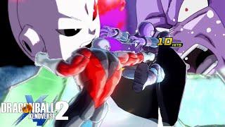 POWER RUSH Vs TIME SKIP! Jiren's Power DESTROYS EVERYTHING In Dragon Ball Xenoverse 2!