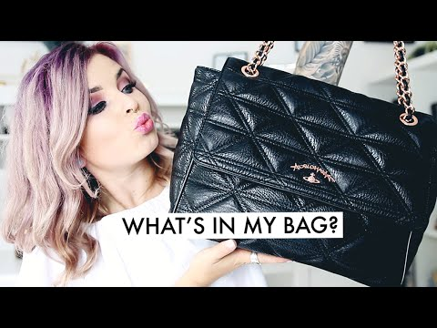 WHATS IN MY VIVIENNE WESTWOOD BAG