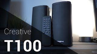Creative T100 Lautsprecher   Review und Soundcheck