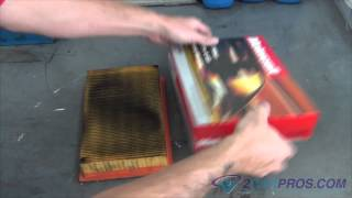 Air Filter Replacement Ford Taurus