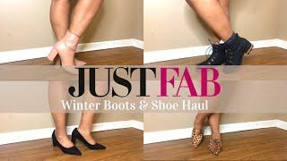 ✨Winter Boots & Shoe Haul || #JustFab || Winter 2020✨