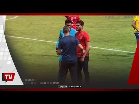 انفعالات من سيد عبدالحفيظ.. ومدرب حراس الأهلي يعطي ورقة للشناوي قبل ركلة الجزاء الملغية