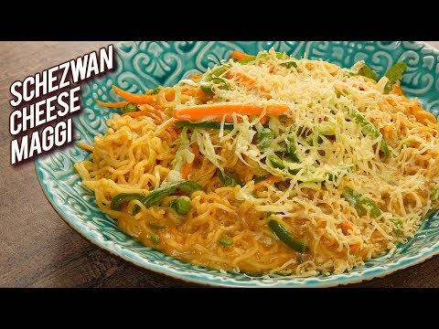 Schezwan Cheese Maggi Recipe – How To Make Vegetable Masala Maggi At Home – Varun