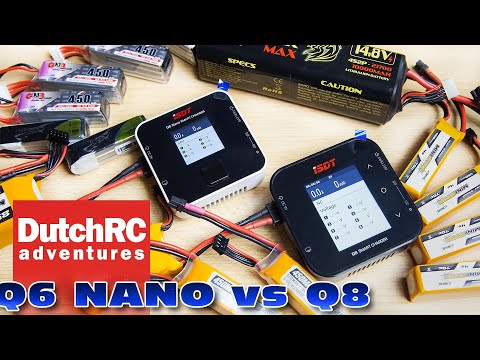 Comparison between the ISDT Q6 Nano and Q6 lipo chargers :)