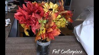DIY Dollar Store Fall Centerpiece!