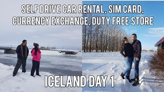 FINLAND TO ICELAND | ICELAND EP-01 | ICELANDIC SIM, CURRENCY EXCHANGE, CAR RENTAL, DUTY FREE SHOP