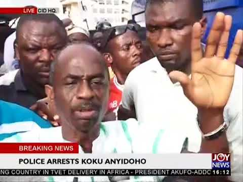 Asiedu Nketiah speaks on Koku Anyidoho's  arrest - The Pulse on JoyNews (27-3-18)