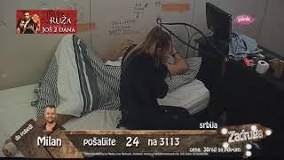 Zadruga - Luna i Sloba se svađaju posle žurke, on udara rukom o zid - 19.06.2018.
