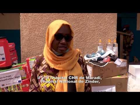 Le projet #TeamEurope-Niger fait un don de matériel à la région de Maradi.