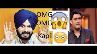 The Kapil Sharma Show Latest 2017 Ep68  Sidhu Throw The Kapil Out Of The Show  Sidhu Fights Kap