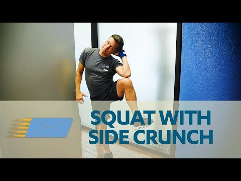Squat to Side Crunch