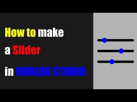 Come Attivare La Modalita Scura In Roblox Studio Billon Come Creare Un Dispositivo Di Scorrimento Dell Interfaccia Utente In Roblox Studiohow To Make A Ui Slider In Roblox Studio Billon