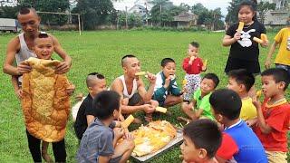 Chiếc Bánh Mỳ Kem Lớn Nhất Việt Nam Của Anh Em Tam Mao