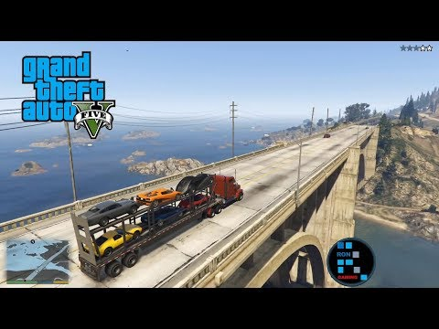 GRAND THEFT AUTO V | RON THE SECRET AGENT IN THE JAMES BOND CAR FUN STORY MISSION GAMEPLAY