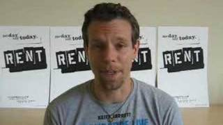 Adam Pascal on Site for RENT