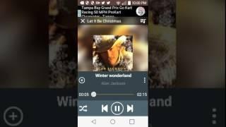 Alan jackson- winter wonderland