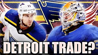 Jaden Schwartz & Jake Allen Red Wings Trade? St. Louis Blues / Detroit NHL Trade Rumours & News 2020
