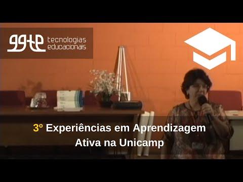 3o. Experiências práticas em Aprendizagem Ativa na Unicamp