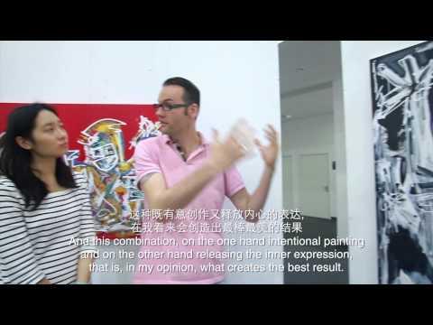 Peter Riezebos: art video in Shanghai
