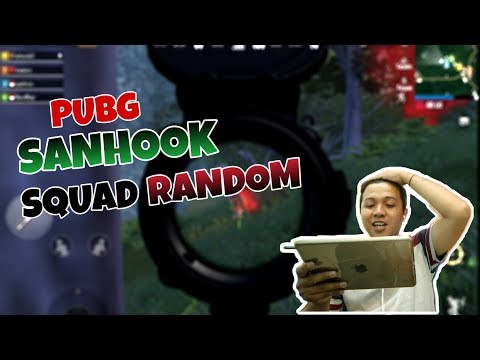 PUBG Mobile - SANHOOK SQUAD RANDOM