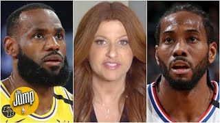 Rachel Nichols recaps the NBA's dramatic return to action, featuring Lakers vs. Clippers   The Jump
