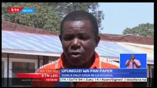 KTN Leo: hakuna shughuli zozote zinaendelezwa katika kiwanda cha Pan Paper baada ya Rais kufungua