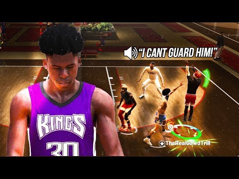 My 97 Overall Sharpshooting ShotCreator is the DEFINITION of DEMIGOD on NBA 2K19  (MUST WATCH!!)