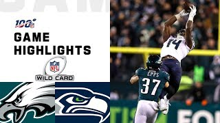The Seattle Seahawks take on the Philadelphia Eagles during the Wild Card Round of the 2019 NFL postseason.  Subscribe to NFL: http://j.mp/1L0bVBu  Check out our other channels: NFL Vault http://www.youtube.com/nflvault NFL Network http://www.youtube.com/nflnetwork NFL Films http://www.youtube.com/nflfilms NFL Rush http://www.youtube.com/nflrush NFL Play Football https://www.youtube.com/playfootball NFL Podcasts https://www.youtube.com/nflpodcasts  #NFL #Seahawks #Eagles