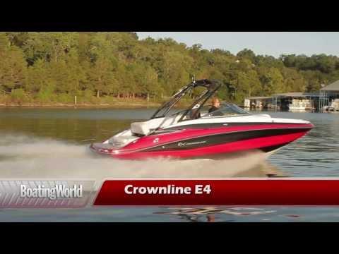 Crownline E 4 video