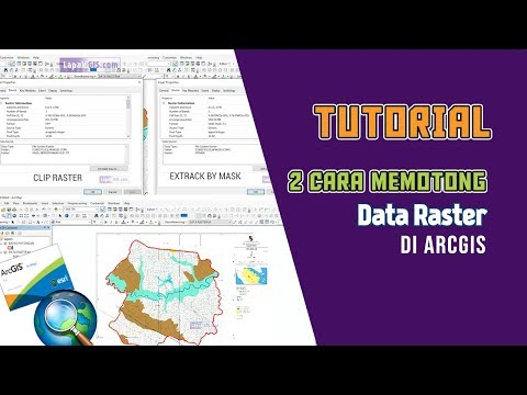 2 Cara Memotong Data Raster Pada Arcgis (Clip Vs Extrack by Mask)