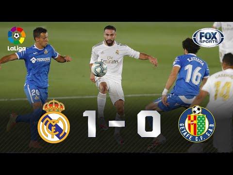 SERGIO RAMOS, O ZAGUEIRO ARTILHEIRO! Melhores momentos de Real Madrid 1 x 0 Getafe pela La Liga