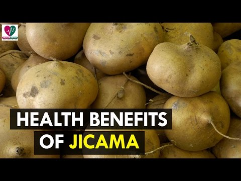 Video 7 Health Benefits of Jicama - Health Sutra