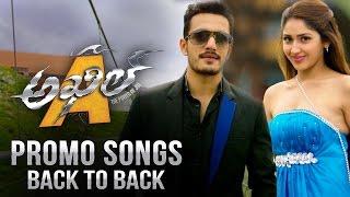 Akhil - Promo Songs Teaser