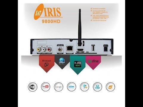 iris 9800 hd review y actualización