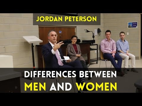 Jordan Peterson on Personality Differences Between Men and Women
