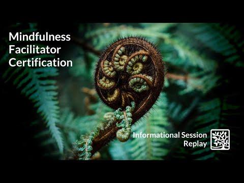 Mindfulness Facilitator Certification - Informational Session - YouTube