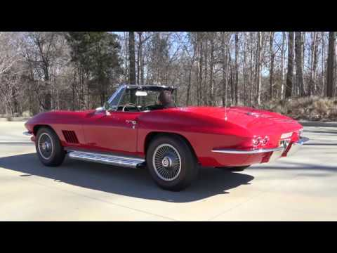 Video of Classic '67 Corvette Stingray located in Charlotte North Carolina - $99,900.00 Offered by RK Motors Charlotte - LT82